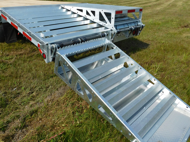 High Capacity Flatbed Trailer For Pick Up Truck N Amp N Trailers