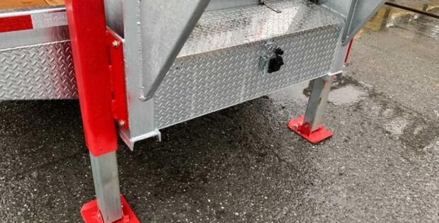 Vérin 7K en acier galvanisé : évitez la rouille